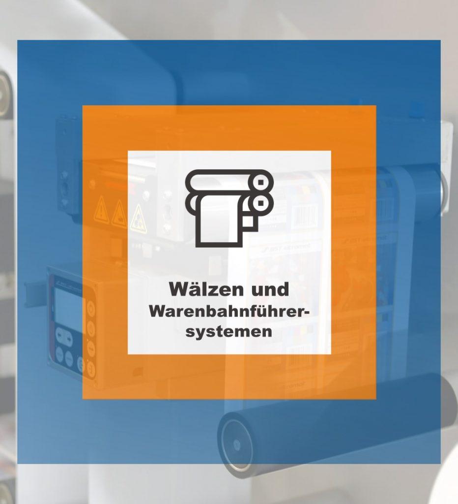 Wälzen und Warenbahnführersystemen